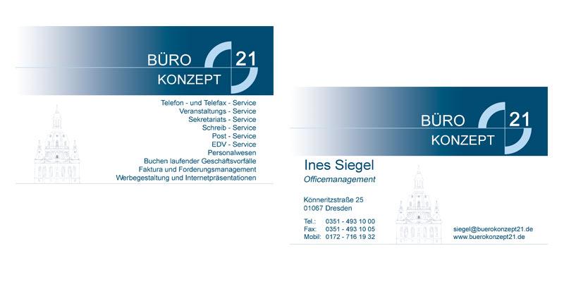 Werbeagentur Freital Visitenkarten